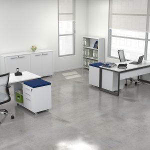 Direct Ergonomics Monico Loop Desk