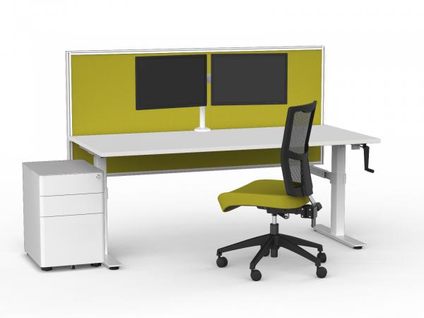 Workzone Manual Single Desk Setup