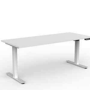 Workzone Electric Straight Desk