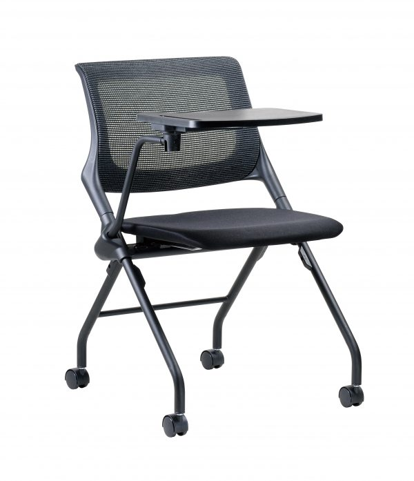 Cenex Visitor Chair with Tablet Arm Front
