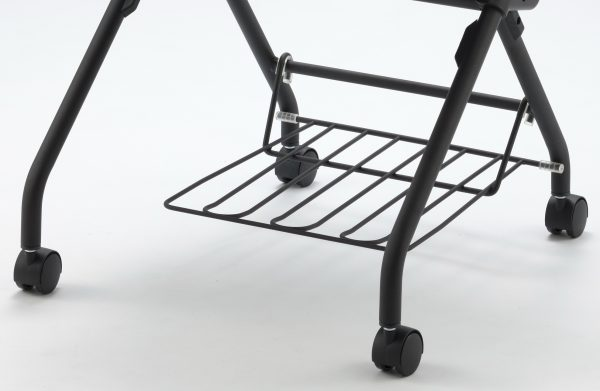 Cenex Visitor Chair - Book Rack