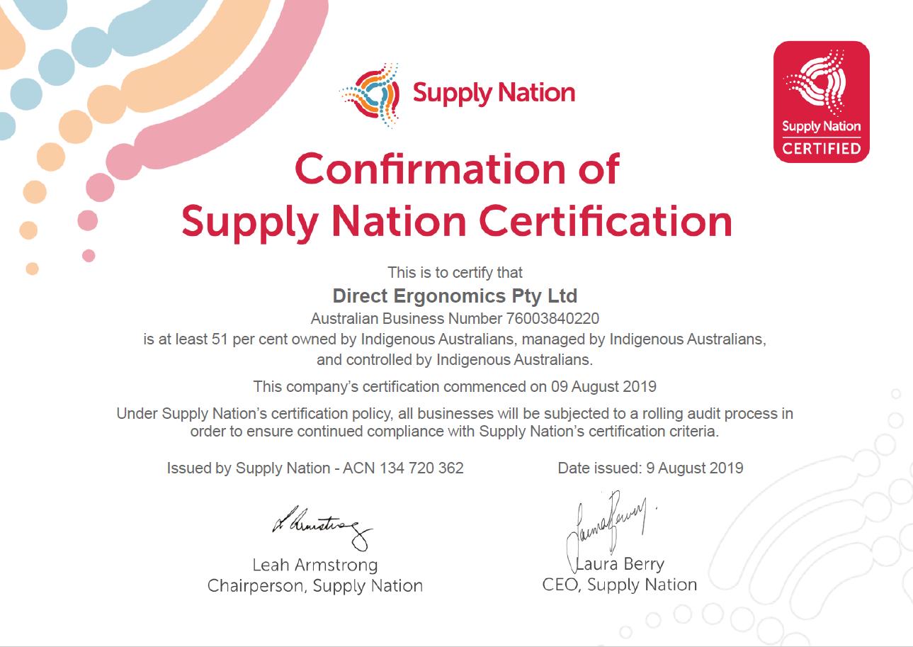 Certificate 3048 GECA 201219