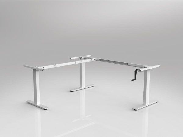 Workzone Manual Corner LH Frame - White